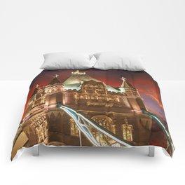 London Tower Bridge Comforters