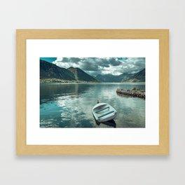 Bay of Kotor Framed Art Print