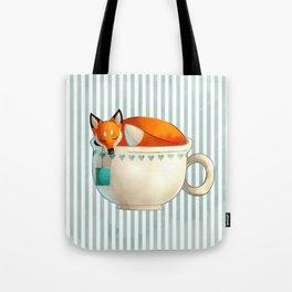 Fox Tea Tote Bag