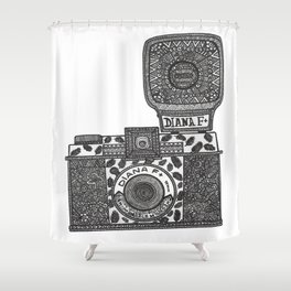 Diana F+ Shower Curtain