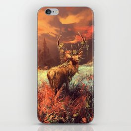 Breath of the wild iPhone Skin