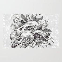 Skull Pile Rug