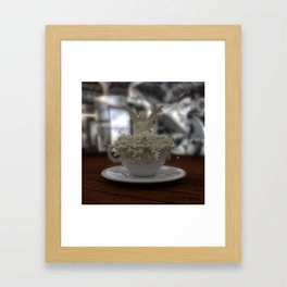 Literal Latte Art Framed Art Print