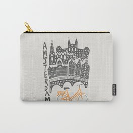 Amsterdam Cityscape Carry-All Pouch