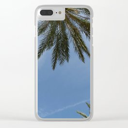 skies and highs Clear iPhone Case