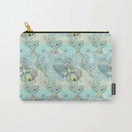 Unicorn Heart Land Garden Carry-All Pouch