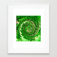 irish Framed Art Prints featuring Irish Green by Chris' Landscape Images & Designs