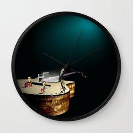 A Beautiful Day Wall Clock