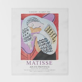 Matisse Exhibition - Aix-en-Provence - The Dream Artwork Throw Blanket