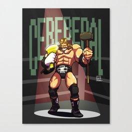 Triple H - Cerebral Canvas Print