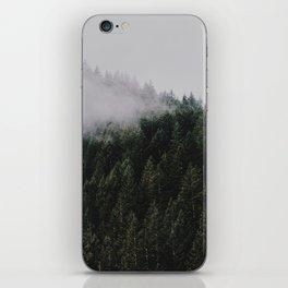 Forest Fog IV iPhone Skin