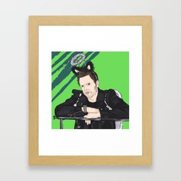 You're on Deck Framed Art Print