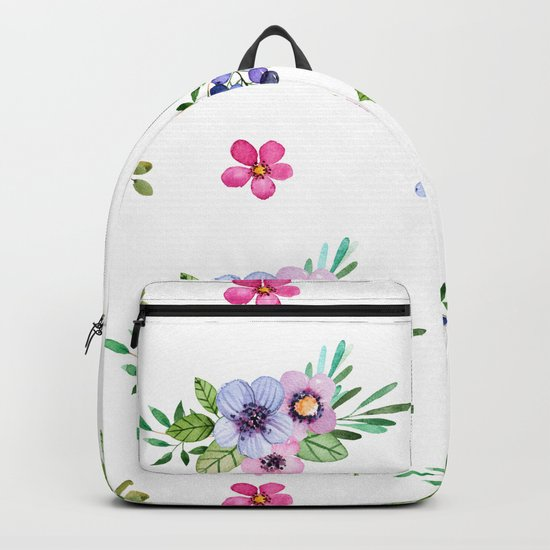 Bright Flowers Backpack