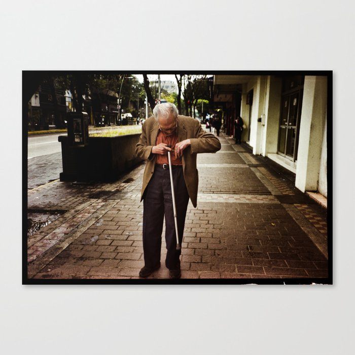Old Man Canvas Print