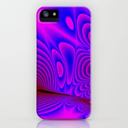 Fractal Ripples iPhone Case