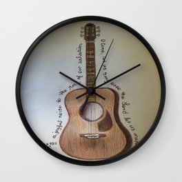 Sing To The Lord Wall Clock