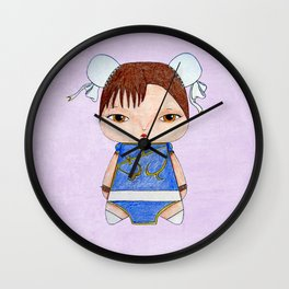 A Girl - Chun-Li Wall Clock
