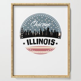 My City, My Home CHICAGO, ILLINOIS Serving Tray