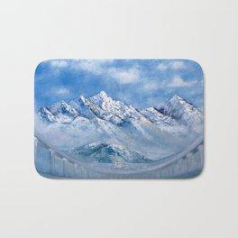 Himalayas. mountain landscape Bath Mat