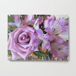 Lavender Pretty Metal Print