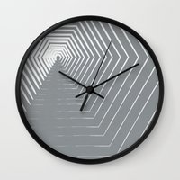 vertigo Wall Clocks featuring Vertigo by K&C Design