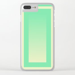 Color Gradient #1 Clear iPhone Case