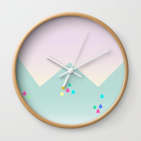 Spring Dawn Wall Clock