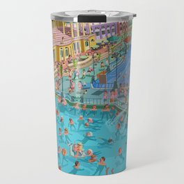 Szechenyi bath Budpest Travel Mug