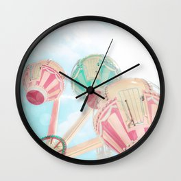 Up Up and Away Ride Wall Clock