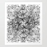 CPU (Dark T-shirt Version) Art Print