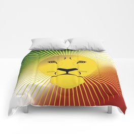 Lion And Sun Home Comforters