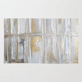 Metallic Abstract Rug