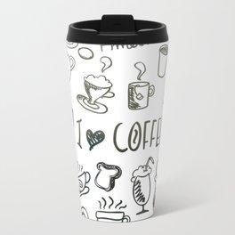 I Love Coffee Travel Mug