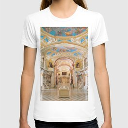 The Magnificent Admont Abbey Library of Admont, Austria Photograph T-shirt