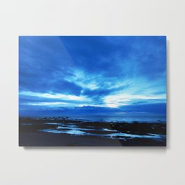 Arm from Above Plays with the Sunset Metal Print