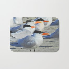 Elegant Terns Bath Mat