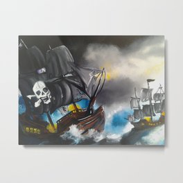 Pirate's Life Metal Print