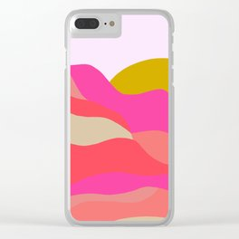Adelaida, mountain sunset Clear iPhone Case