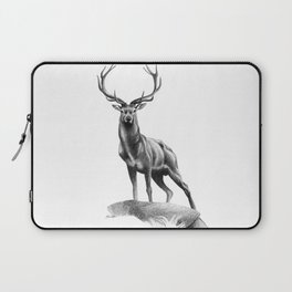 All Muscle - Red Deer Stag Laptop Sleeve