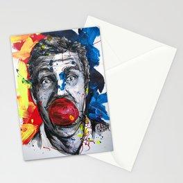 Jason Bateman Portrait painting illustration by #carographic Stationery Cards