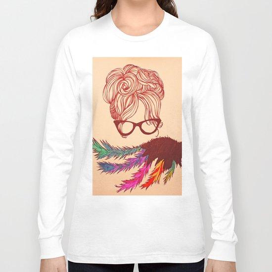 Ms. Glasses Long Sleeve T-shirt