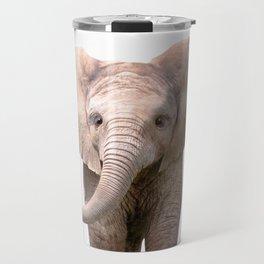 Cute Baby Elephant Travel Mug