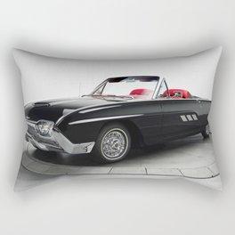 1963 Ford Thunderbird Rectangular Pillow