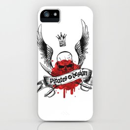 Pirates of Design iPhone Case