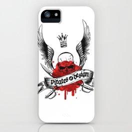 Pirates of Design iPhone Case