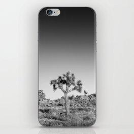 Monochrome Joshua Tree iPhone Skin