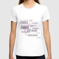 feminism T-shirts featuring Feminism by Faloulah