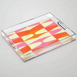 Zaha Sixties Acrylic Tray