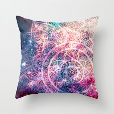 Space mandala 5 Throw Pillow