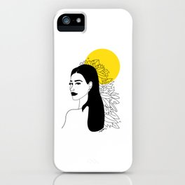 she was yellow iPhone Case